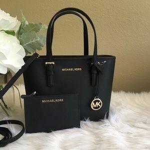 Michael Kors Carryall Tote/Crossbody Bag &wallet